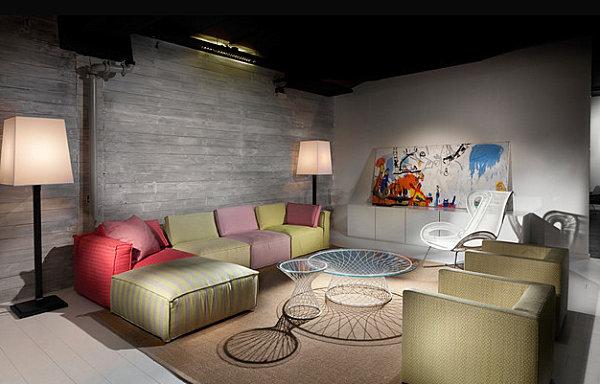 Уникальное декорирования интерьера с использованием пастельных тонов
