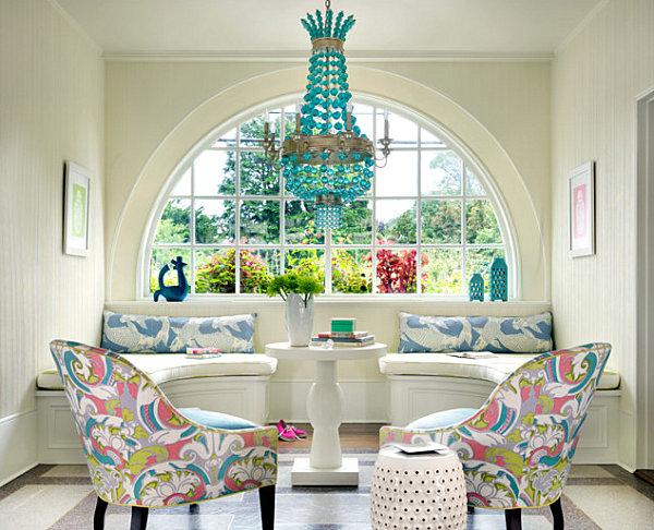 Современное декорирования интерьера с использованием пастельных тонов