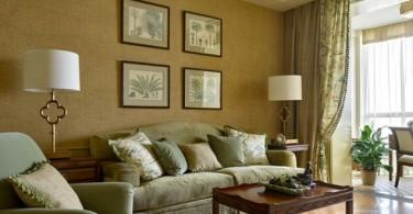 Шикарное оформление квартиры в стиле фьюжн