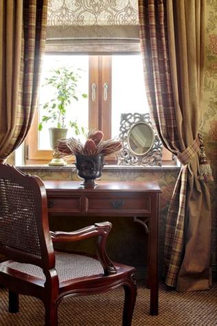 Деревянная мебель в стиле фьюжн