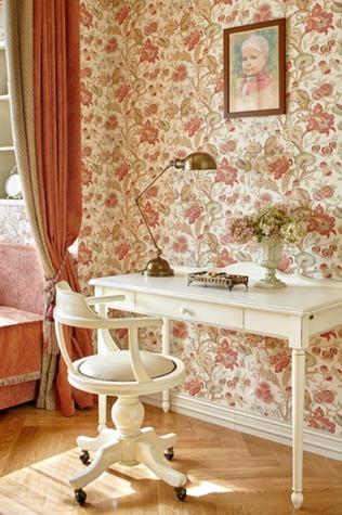 Белая мебель в стиле фьюжн