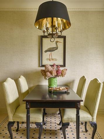 Оформление столовой в стиле фьюжн