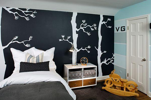 Декорирование стен в комнате