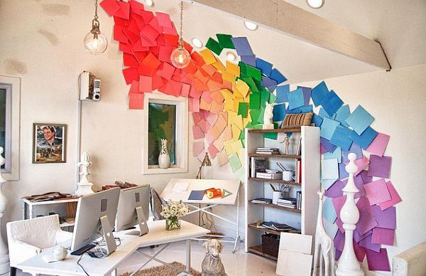 Декор кабинета фото своими руками
