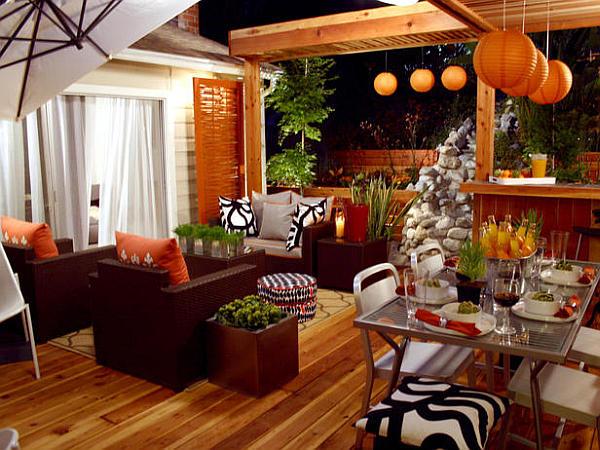 Подвесные светильники оранжевого цвета