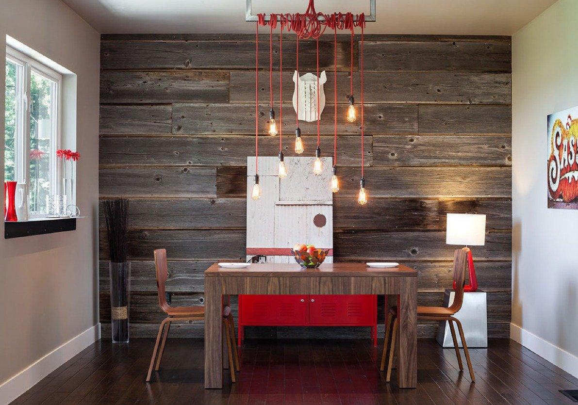 Декорирование стен на кухне фото