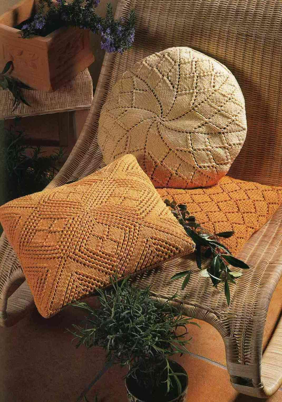 Чудесные декоративные подушки в интерьере