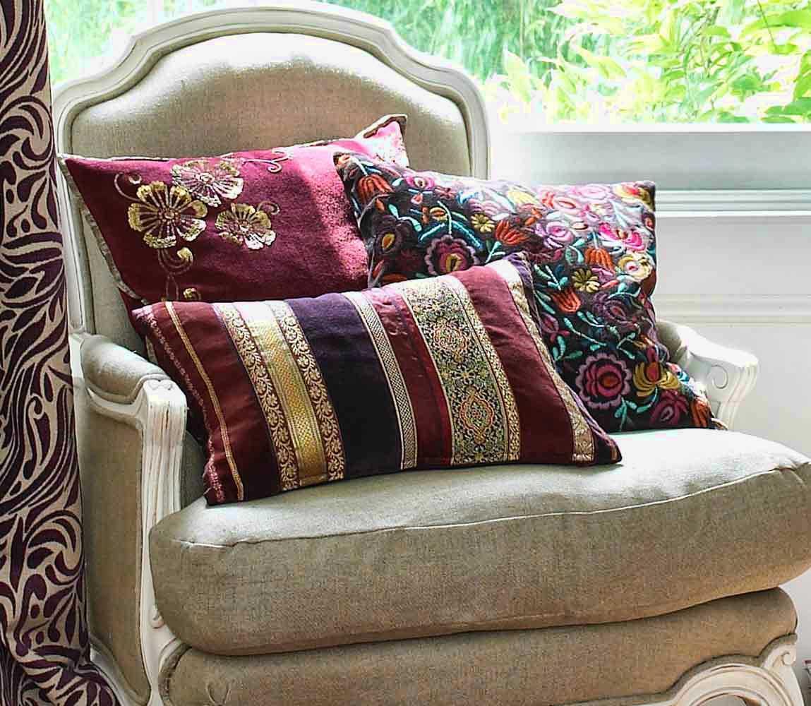 Креативные декоративные подушки в интерьере