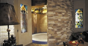 Использование камня в декорировании помещений