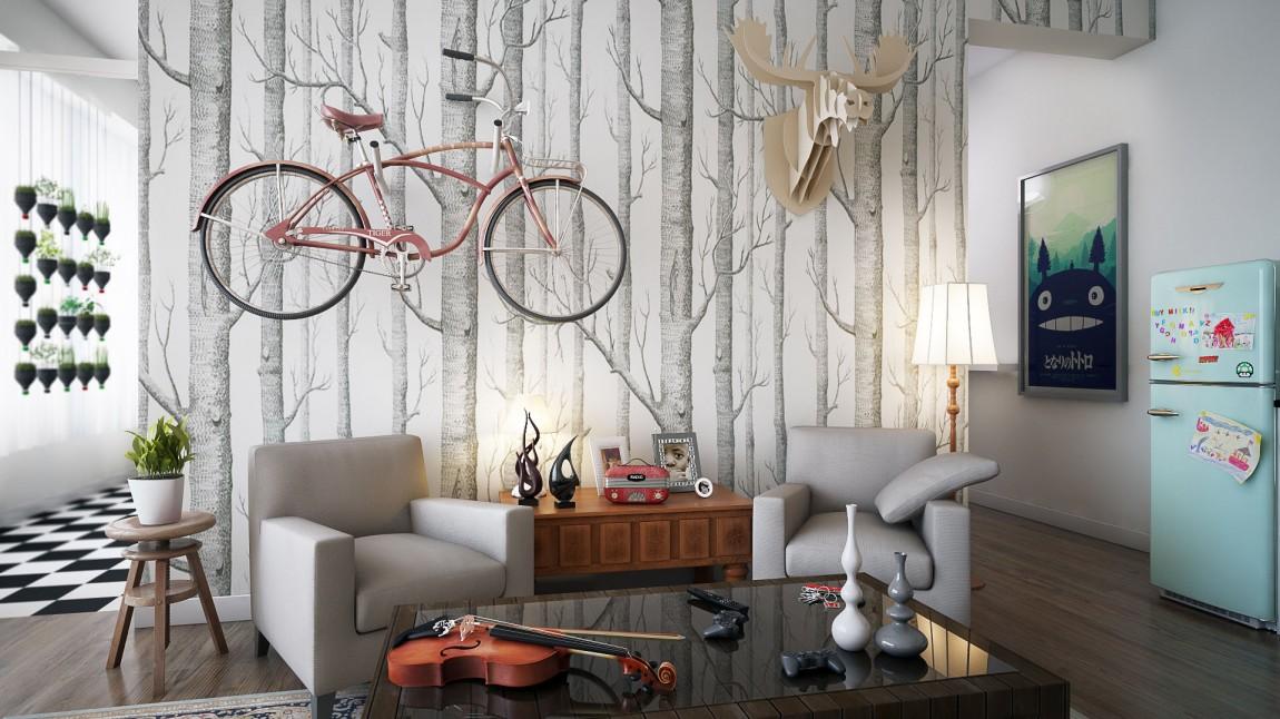 Оригинальный декор стен в интерьере - Фото 1