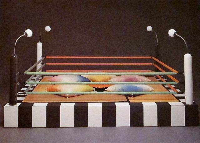 Предметы мебели в стиле дизайна Мемфис 1980-х годов - фото 1