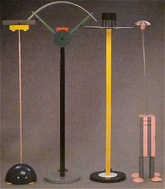 Предметы мебели в стиле дизайна Мемфис 1980-х годов - фото 3