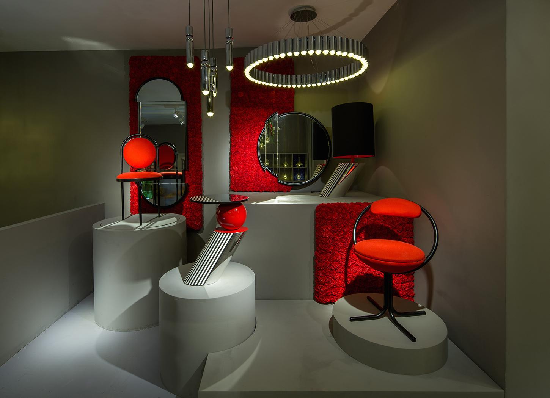 Стиль дизайна Мемфис: диван от дизайнера группы «Мемфис»