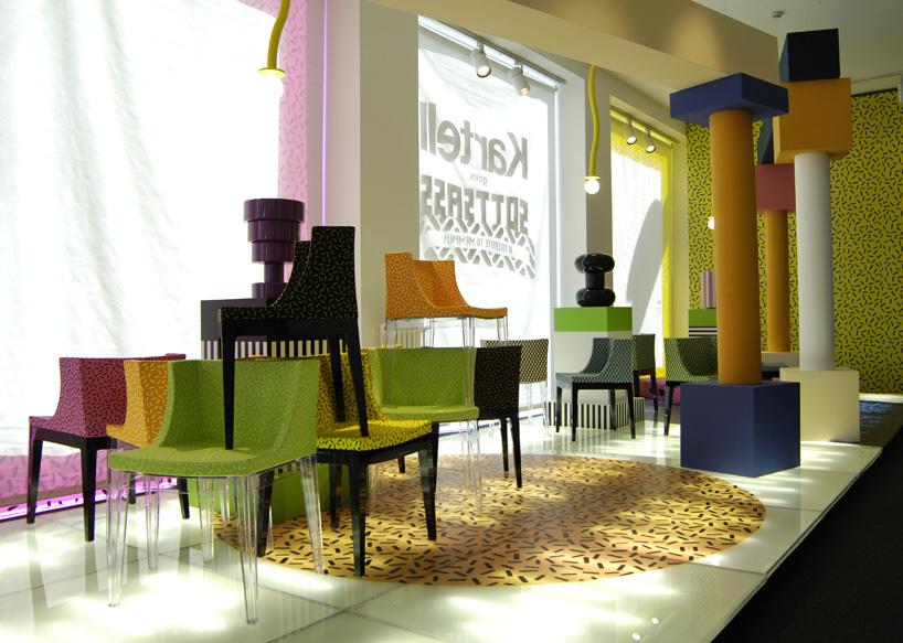 Мебель в стиле дизайна Мемфис