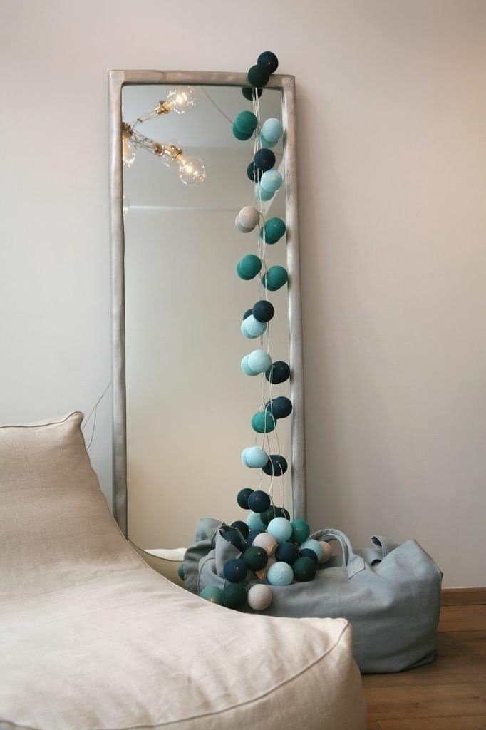 Декоративное освещение: светящаяся гирлянда в интерьере - Фото 2