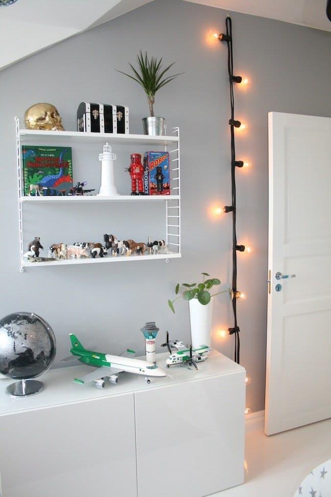 Декоративное освещение: светящаяся гирлянда в интерьере - Фото 5
