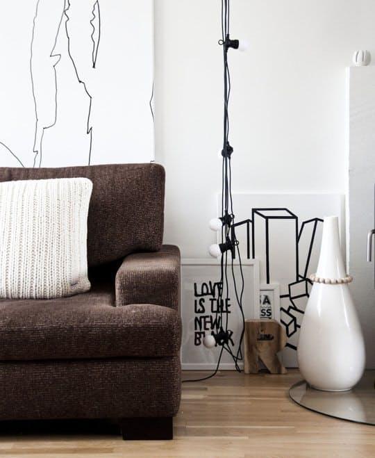 Декоративное освещение: светящаяся гирлянда в интерьере - Фото 7