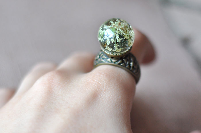 Королевский перстень в винтажном стиле