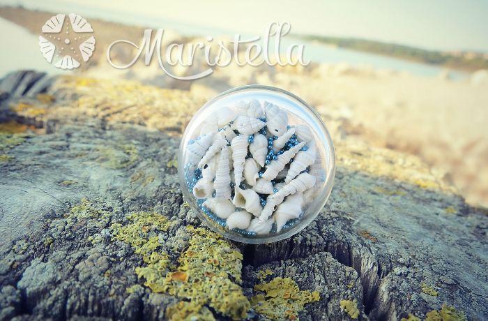 Миниатюра из раковин моллюсков