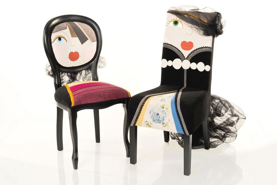 Рисунки прикольных стульев