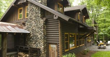 Деревянный фасад от Lands End Development - Designers & Builders