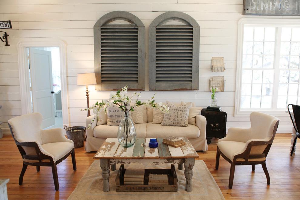Деревенский стиль в дизайне интерьеров домов