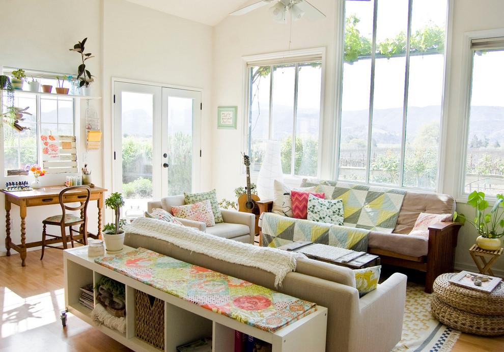 Деревенский стиль в дизайне интерьеров домов - потрясающие одеяла