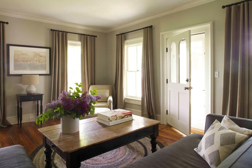 Деревенский стиль в дизайне интерьеров домов - ковёр на полу