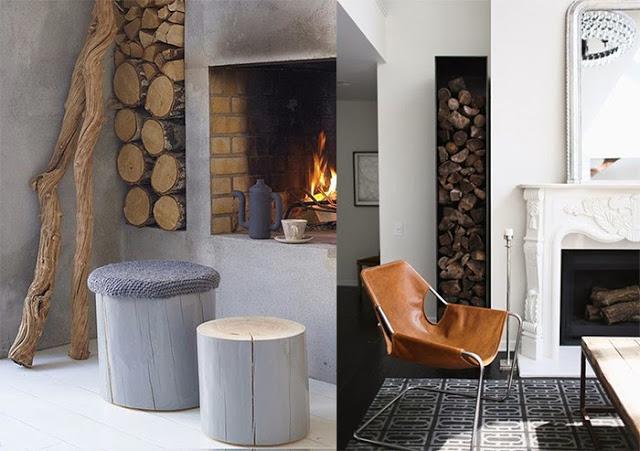 Деревянные элементы в оформлении интерьера