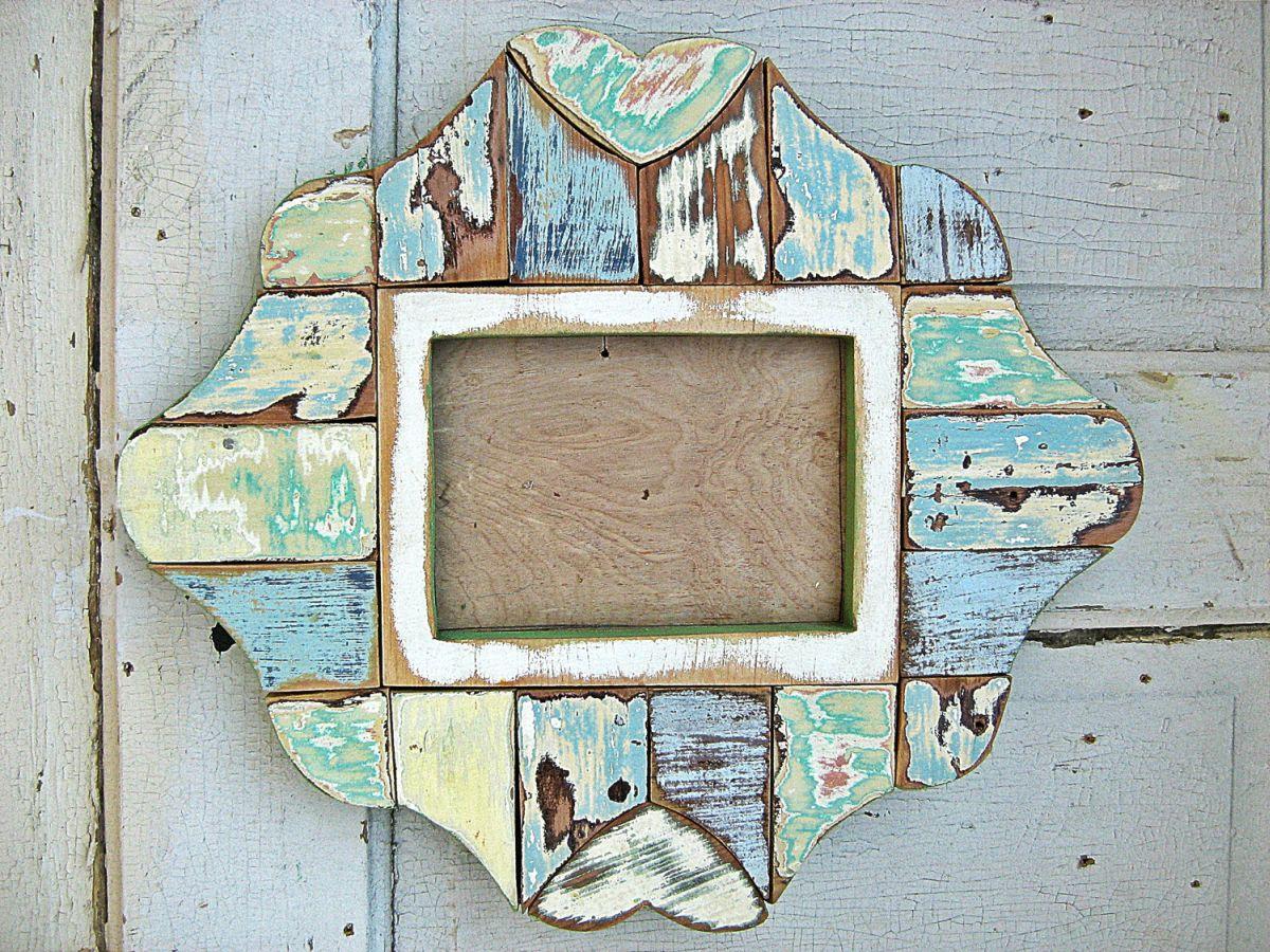 Дизайн оригинальной рамки из дерева