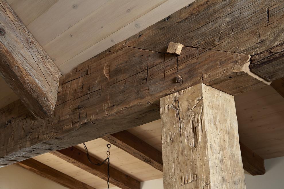 как соединить деревянные балки фото кармане давало покоя