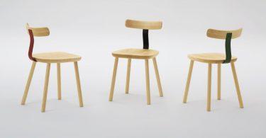 Совершенство формы и дизайна деревянных стульев от Jasper Morrison