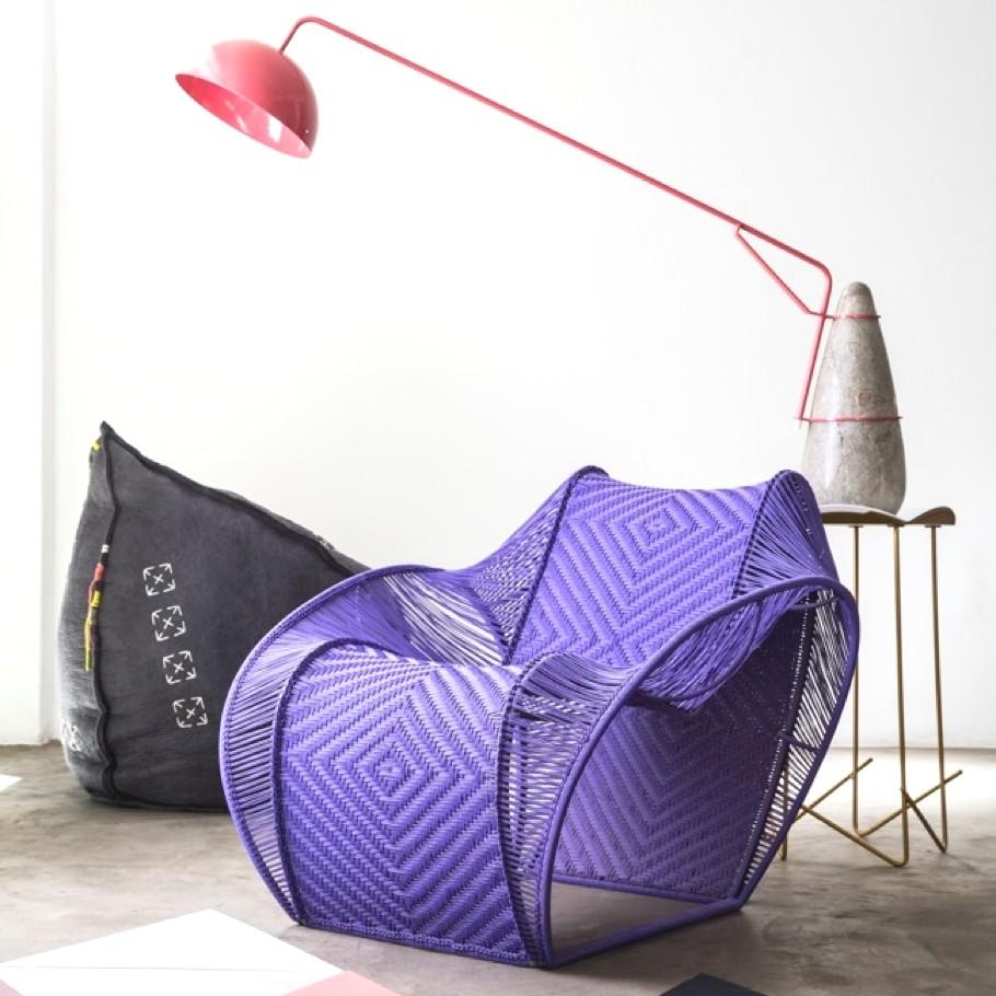 Дизайнерское кресло - экспонат из Африки на Лондонском фестивале дизайна