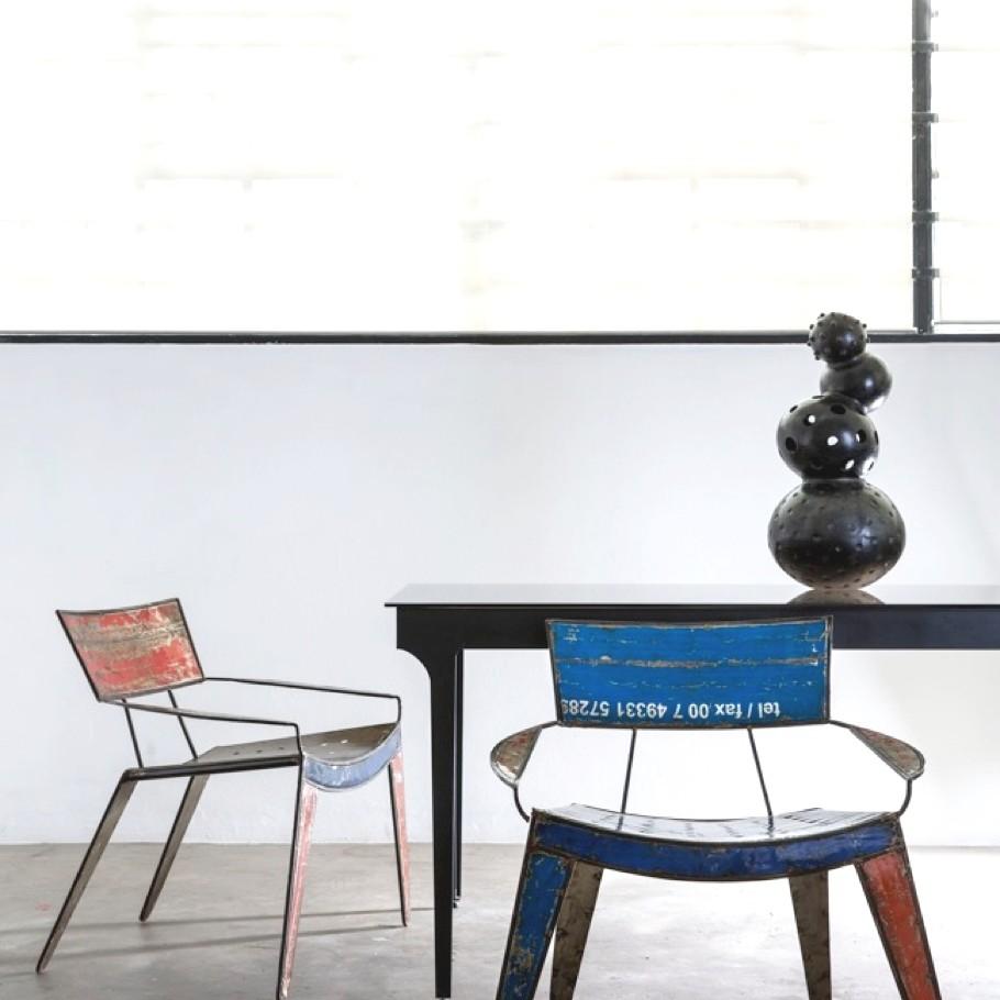 Дизайнерская мебель - экспонаты из Африки на Лондонском фестивале дизайна