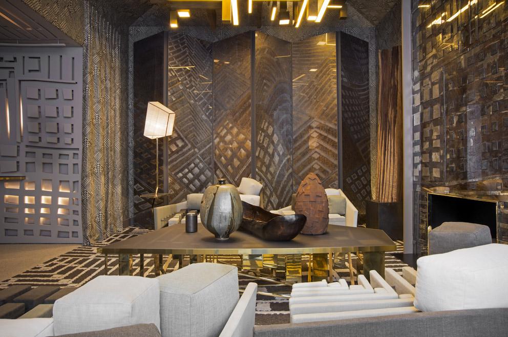 Элегантный дизайн интерьера в премиум-классе