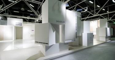 Впечатляющий дизайн стенда Ariostae на выставке Cersaie