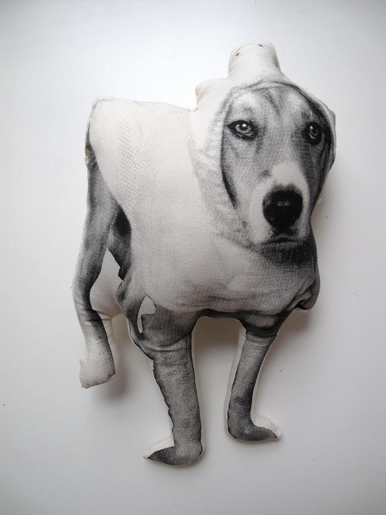 Preserve the memory of your pets: original cushions from Shannon Broder art workshop
