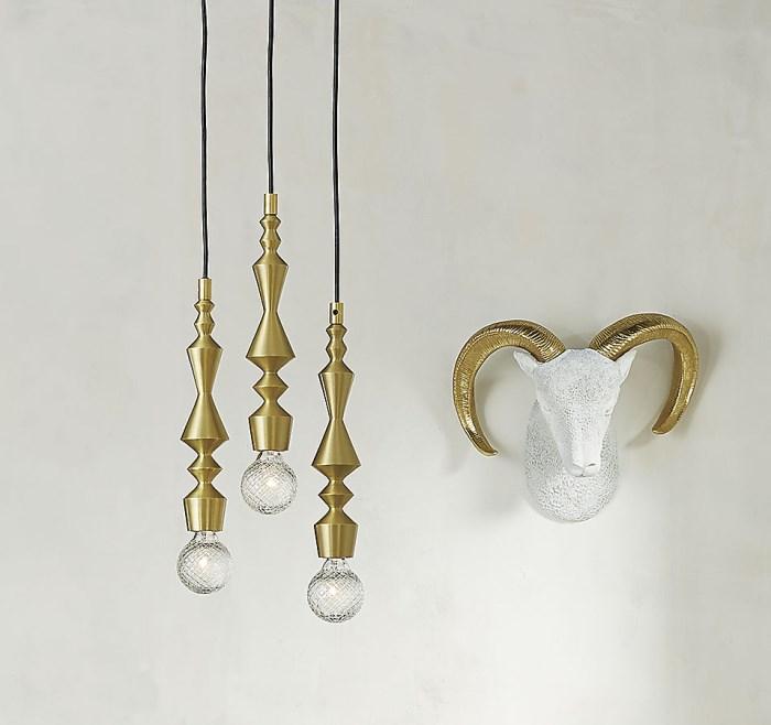 Декоративные детали интерьера - лампы