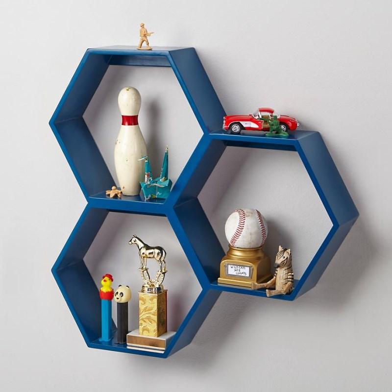Декоративные детали интерьера - полки для хранения игрушек