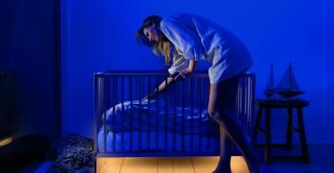 Подсветка кроватки