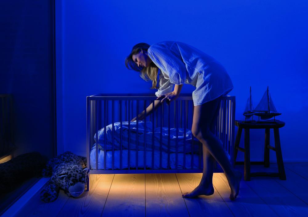 Светодиодное освещение детской кроватки