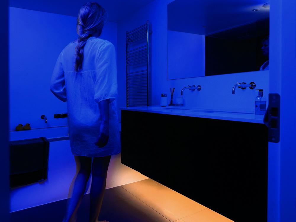 Светодиодное освещение ванной