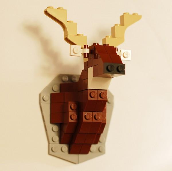 Эксклюзивные миниатюрные поделки из LEGO