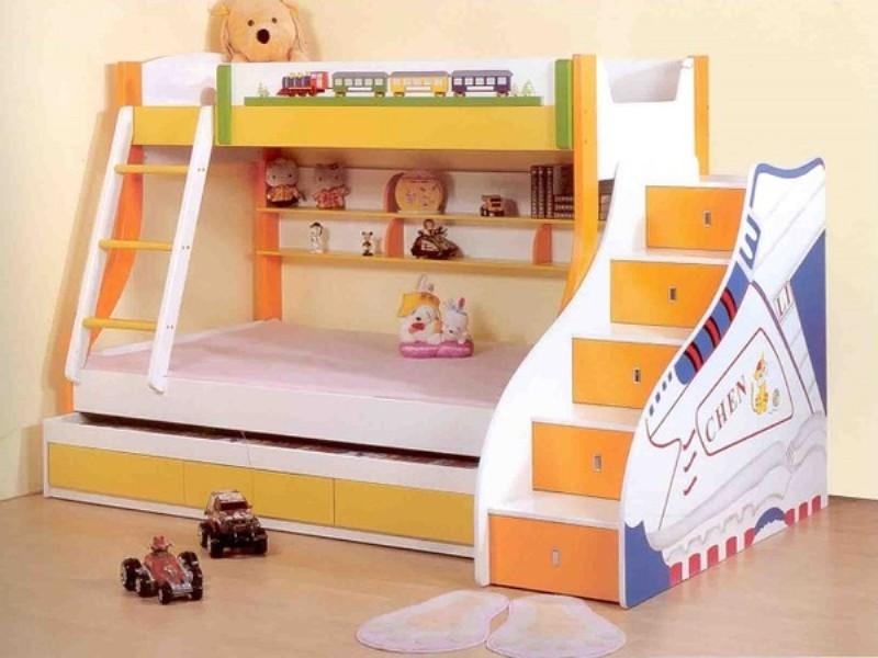 Кровать-чердак для детской