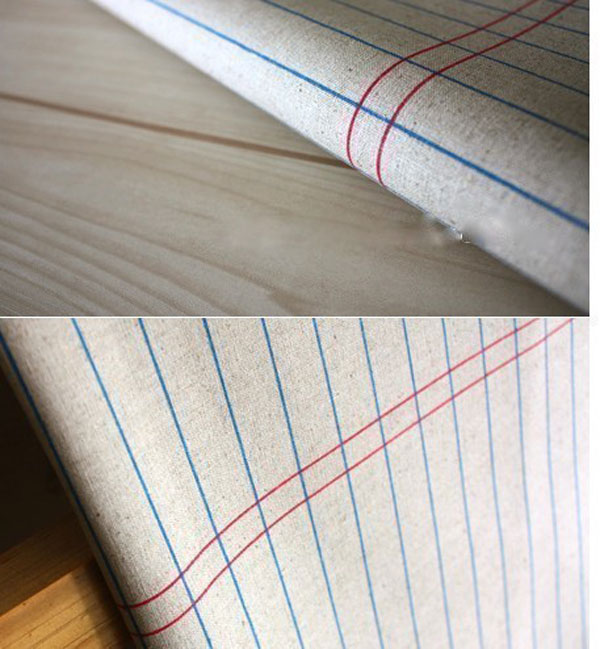 Тетрадные поля на постельном белье