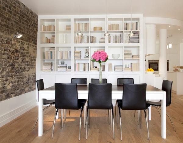 Прекрасный дизайн интерьера домашней библиотеки