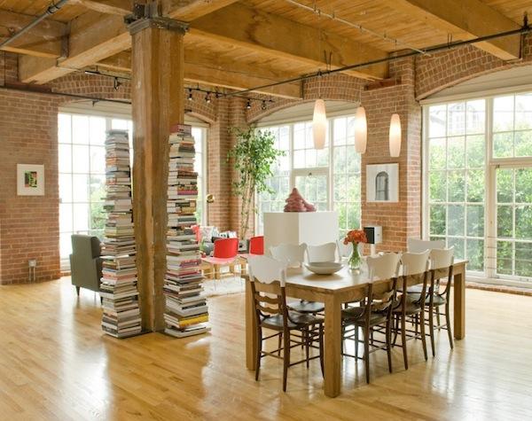 Умопомрачительный дизайн интерьера домашней библиотеки