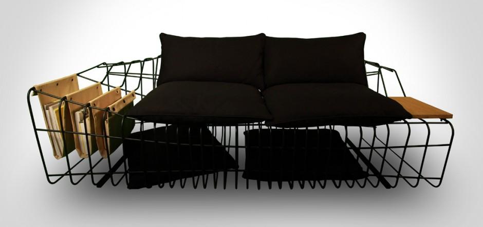 Креативный диван Sofist от Sule Koc
