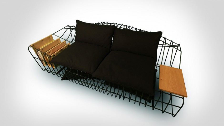 Оригинальный диван Sofist от Sule Koc