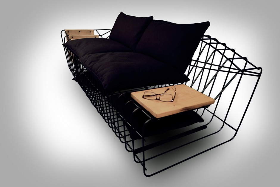 Современный диван Sofist от Sule Koc